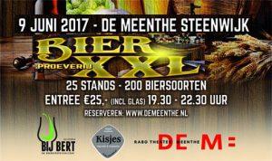 Bier XXL, Bierproeverij - speciaalbieren - Kisjes-Slijterij Meppel Staphorst