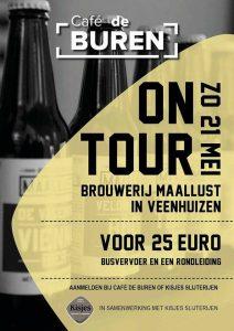 proeverij en rondleiding bij brouwerij Maallust in Veenhuizen